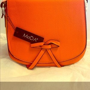 MoDa New York Crossbody Bag Tangerine